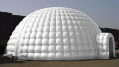 Beyaz Dome Çadır