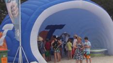 Aktivite Çadırı Mavi