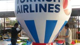 Yeni Türk Hava Yolları Reklam Balonu