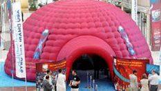 Kırmızı Dome Çadır